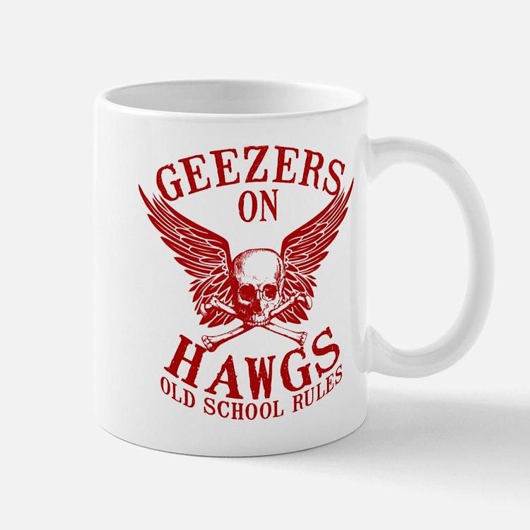 Geezers on Hawgs Mug