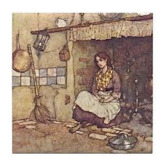 Dulac's Cinderella Tile Coaster