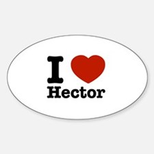 I love Hector Decal