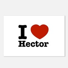 I love Hector Postcards (Package of 8)