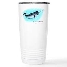 Narwhal Whale Travel Mug