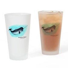 Narwhal Whale Drinking Glass