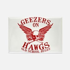 Geezers on Hawgs Rectangle Magnet