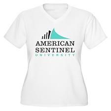 AS_LOGO_CMYK Plus Size T-Shirt