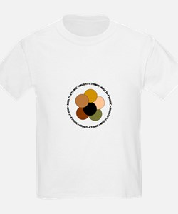 Multiethnic/ Multracial Pride Kids T-Shirt