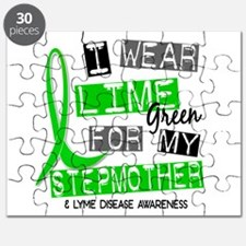 I Wear Lime 37 Lyme Disease Puzzle