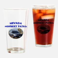 Nevada Highway Patrol Drinking Glass