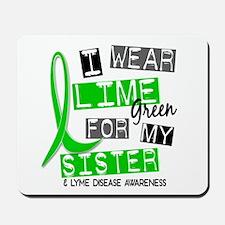 I Wear Lime 37 Lyme Disease Mousepad