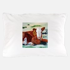 Hereford Calf Pillow Case