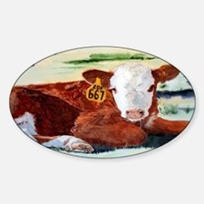 Hereford Calf Decal