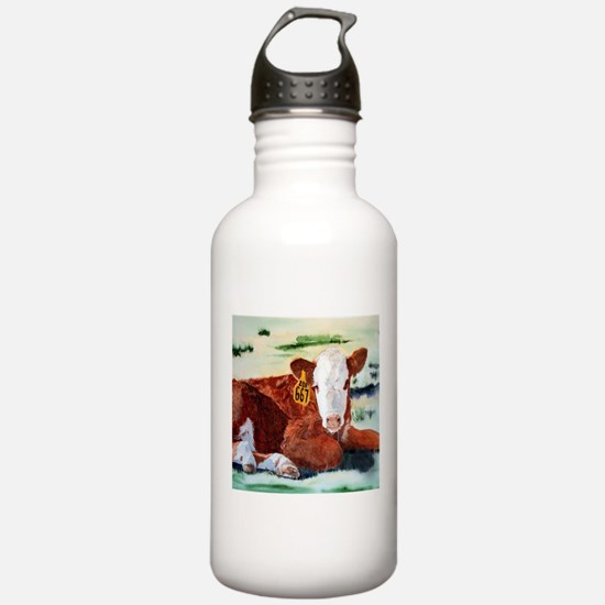 Hereford Calf Water Bottle