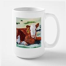 Hereford Calf Large Mug
