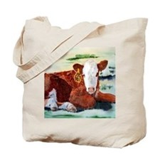 Hereford Calf Tote Bag