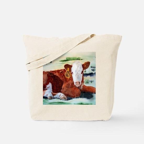 Hereford Calf Tote Bag