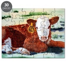 Hereford Calf Puzzle