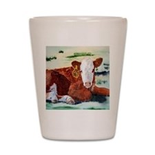 Hereford Calf Shot Glass