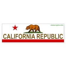 Bumper Sticker, Bear Flag