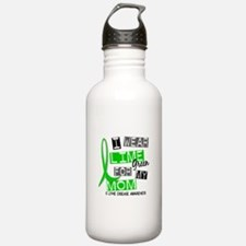 I Wear Lime 37 Lyme Disease Water Bottle