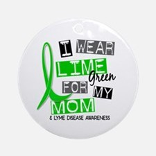 I Wear Lime 37 Lyme Disease Ornament (Round)