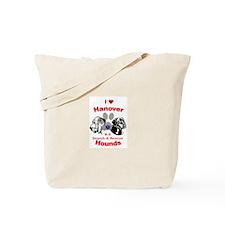 I Heart Hanover Hounds Tote Bag
