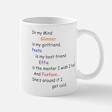 Glimmer GF/Peeta BF/Foxface Cd 2 Mug