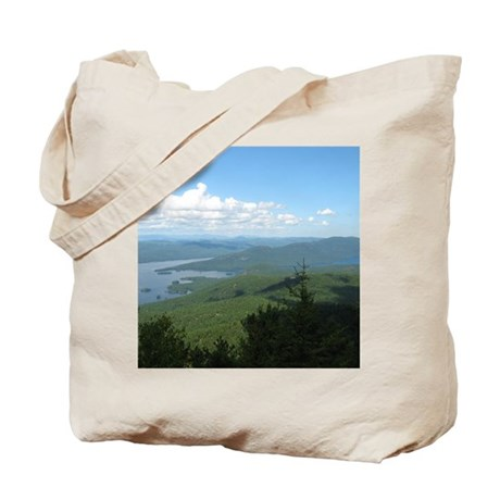 Tong. Mtn Range Tote Bag