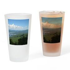 Tong. Mtn Range Drinking Glass