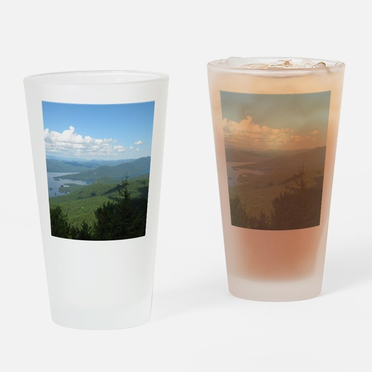 Tong. Mtn Range Drinking Glass