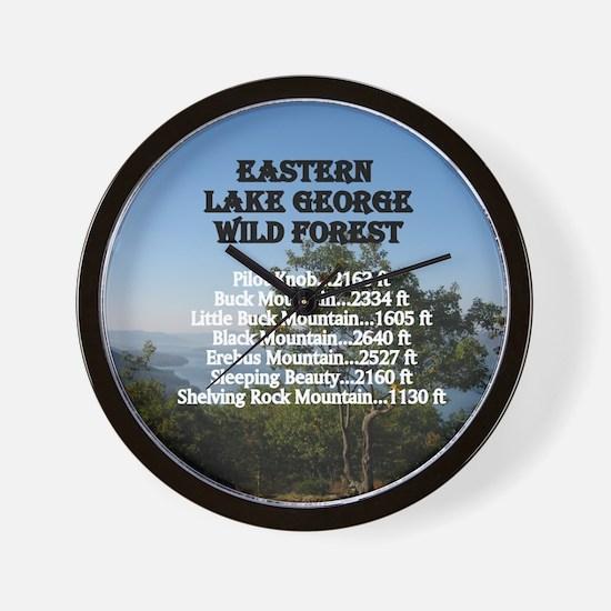 Eastern LG summits Wall Clock