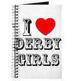 Roller derby Journals & Spiral Notebooks