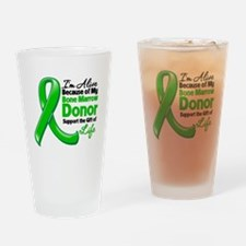 Alive BC Bone Marrow Donor Drinking Glass