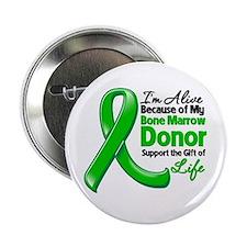 """Alive BC Bone Marrow Donor 2.25"""" Button"""