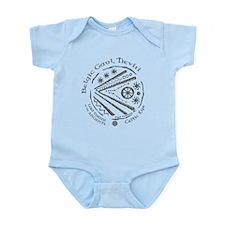 Celtic Eye Coin Infant Bodysuit
