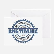Titanic Sinking Anniversary Greeting Card