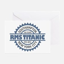 Titanic Sinking Anniversary Greeting Cards (Pk of