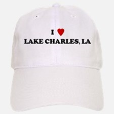 I Love Lake Charles Baseball Baseball Cap