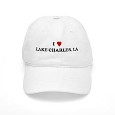 I Love Lake Charles Baseball Cap