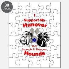 I Support My Hanover Hounds Puzzle