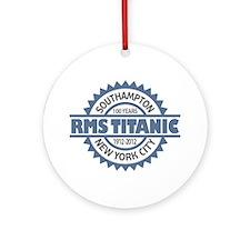 Titanic Sinking Anniversary Ornament (Round)
