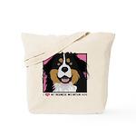 I Love My Bernese Tote Bag