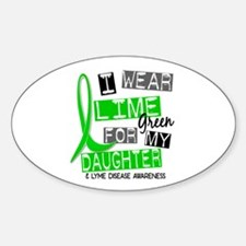 I Wear Lime 37 Lyme Disease Decal