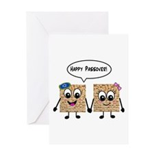 Happy Passover Matzot Greeting Card