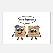Happy Passover Matzot Postcards (Package of 8)