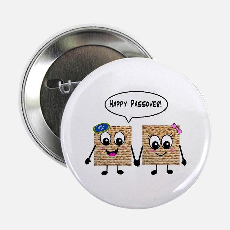"Happy Passover Matzot 2.25"" Button"
