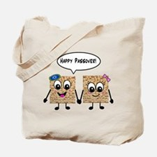Happy Passover Matzot Tote Bag