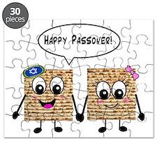 Happy Passover Matzot Puzzle