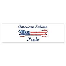 American Eskimo Pride Bumper Bumper Sticker