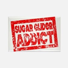 Sugar Glider ADDICT Rectangle Magnet