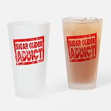 Sugar Glider ADDICT Drinking Glass