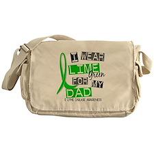 I Wear Lime 37 Lyme Disease Messenger Bag